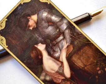 Bookmark - Pre-Raphaelite Painting - Handmade