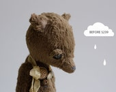 SALE 25% OFF Stuffed Fox Philipp Soft Toys Animals Artist Teddy Bear