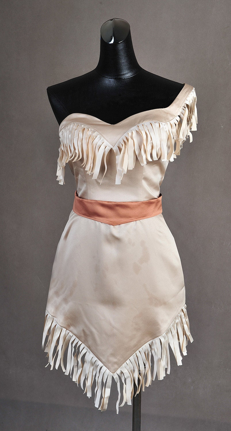 Pocahontas Native American Gown Dress Cosplay by ...