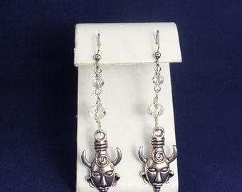 Supernatural, Dean's Amulet Earrings (Silver)