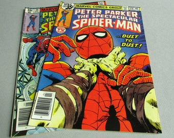 Peter Parker The Spectacular Spider-Man No. 29 or No. 30, April or May 1979, Marvel Comics