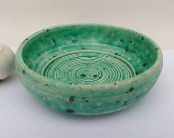 Garlic Grater Ginger Grater Handmade pottery UK