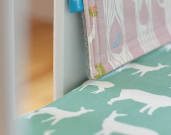 Organic Crib Sheet in Elk Mint