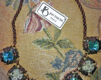 A Jean Louis Blin Parisian Necklace. Rare, extremely limited or one of a kind.