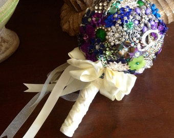 DEPOSIT | Brooch Bouquet | Broach Bouquet | Wedding Bouquet | Jeweled Bouquet | Alternative Bouquet | Bridal Bouquet