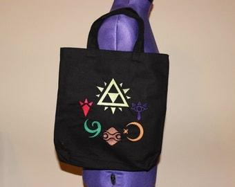 Legend of Zelda Ocarina of Time Sages Tote Bag (Custom Embroidered)