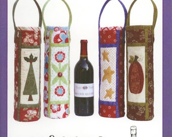 Cheers Wine Bag Pattern by Pieceful Designs (PIDMS20)