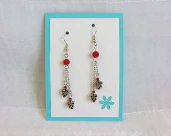 SALE! Flower Earrings