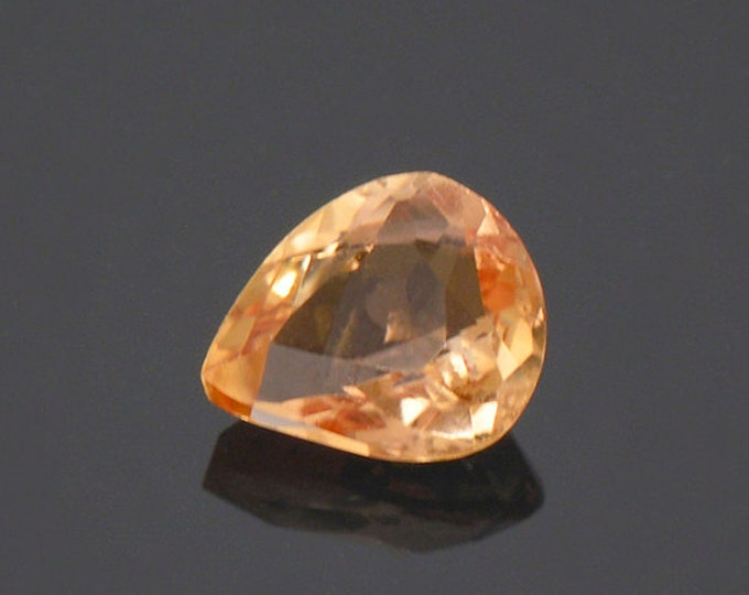Bright Orange Imperial Topaz Gemstone from Brazil 0.66 cts.