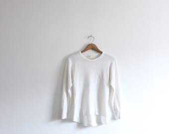 Soft White Basic Thermal Shirt