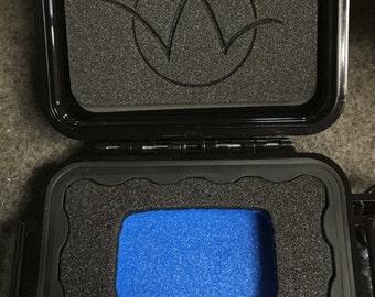 Wasteland Oddities Leather Lighter Case - Custom Pelican Case - Lighter Case