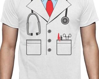 Doctor Halloween Costume - Men's Short Sleeve T-Shirt