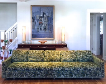 Fun and Fancy Nine-Foot Sofa