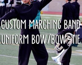 Custom Marching Band Uniform Bow/Bow-tie