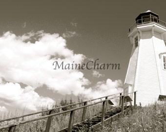 Mulholland Point Lighthouse, Campobello Island, Island Photography
