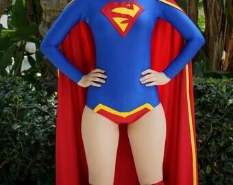 Custom New 52 Kara Zor-El Supergirl Cosplay Costume