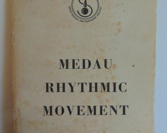 Vintage 1950s Medau Rhythmic Movement Dance Book Booklate