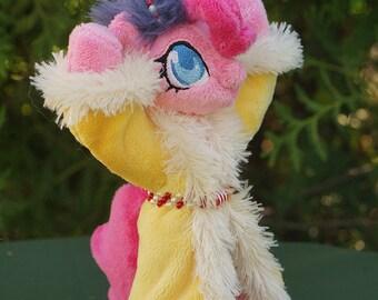 My Little Pony Pinkie the spirit of Hearth's Warming Presents custom plushie