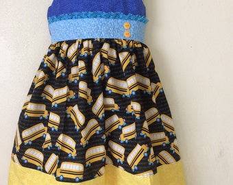 Girls   Back to school dress/clothes/outfit .Size  4T(ready to ship)