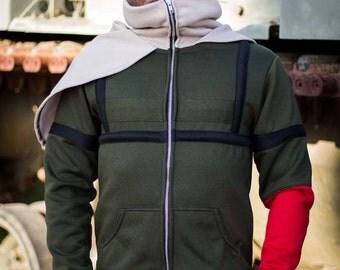 Metal Gear Solid V Venom Snake Cosplay Costume MGS MGSV Hoodie Jacket