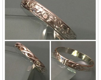 Sterlin Silver Band Ring, Sterling Silver Thumb Ring