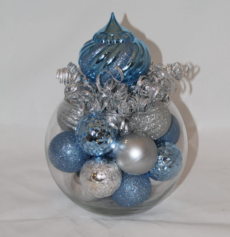 Winter wonderland christmas centerpiece hanukkah