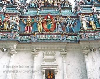 Singapore Photography - Sri Veeramakaliamman Temple - Indian Hindu - Asian Fine Art Photography, Kali, Shivia