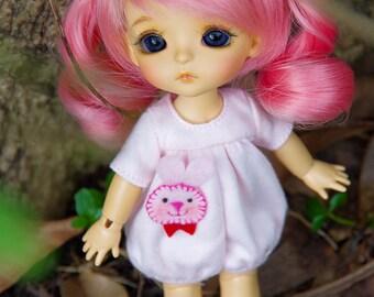 Lati Yellow/Pukifee - Rabbit Babydoll Romper/Jumpsuit - Pink Color