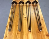 Hairpin Legs - 3 Rod with Round Bottoms