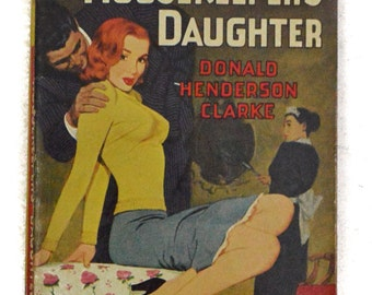 Vintage 30s The Housekeeper's Daughter Donald Henderson Clarke Avon 503 Pulp Novel Paperback Book