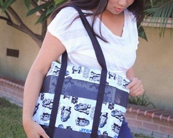 Star Wars R2-D2 mesh tote bag-Medium