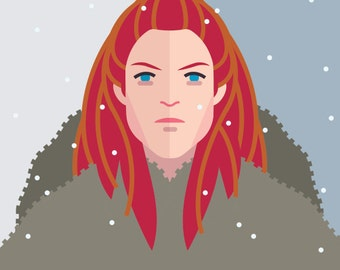 Game of Thrones - Ygritte 11x14 print
