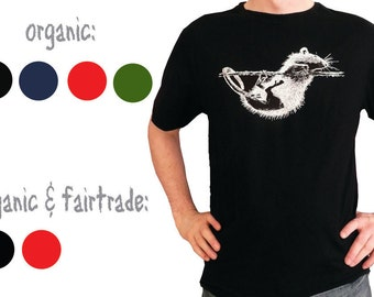 Rat, t-shirt, organic OR organic&fairtrade cotton,  for men
