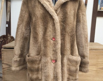 Vintage Fur Jacket, Faux