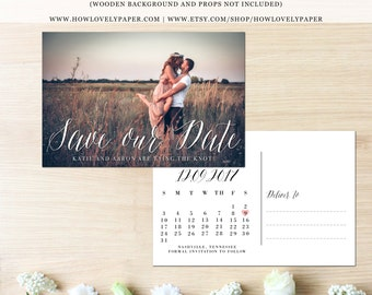 Printable Save the Date Postcard - the Layla Collection - Save the Date Post Card - Save Our Date Postcard - Save Our Date - Save the Date
