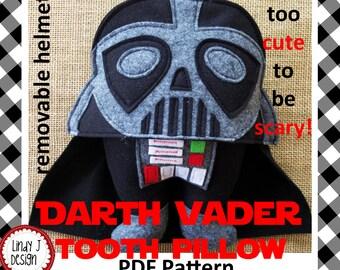 Darth Vader TOOTH PILLOW .PDF Pattern