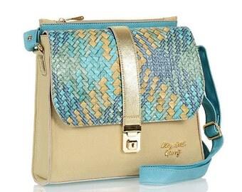 Leather Purse, Women Handbag, Leather Shoulder Bag, Vegan, Gift
