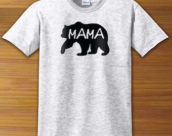Mama Bear Mom Mommy Shirt