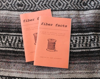 Fiber Facts zine