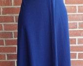 Vintage Sleeveless Blue D...