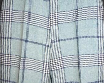 1960s Womens Wool Bellbottom Pants Sz 10 Retro Vintage 28x33