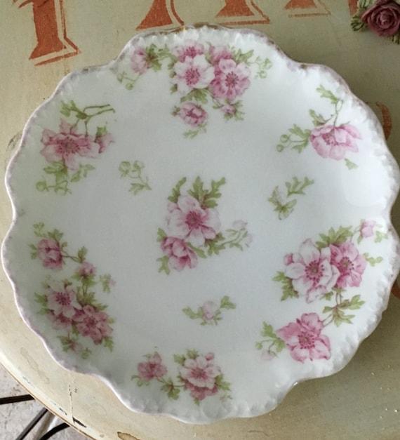 Limoge Dessert Plate