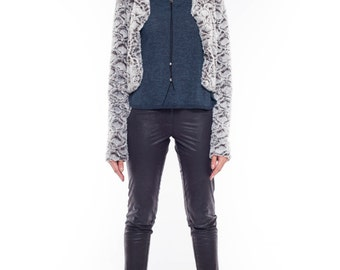 Faux Fur Coat, Cropped Jacket