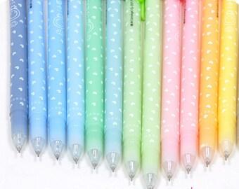 Heart Gel Pens 12pc. Set