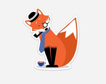 Mr. Foxington Magnet