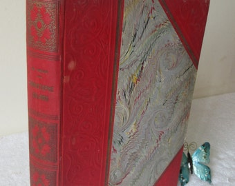 Beautiful French Vintage Book, Christopher Columbus, Christophe Colomb by Charles Simond, Illustrated Hardback,