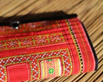 Thai Hill Tribe Hand Embroidered Purse