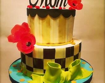MOM Cake Topper