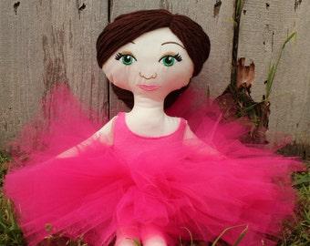Cloth Ballerina Doll