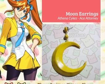 Athena Cykes Crescent Moon Earring
